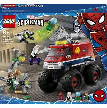 LEGO Super Heroes Spider-Man - Camionul gigant al Omului paianjen contra Mysterio 76174