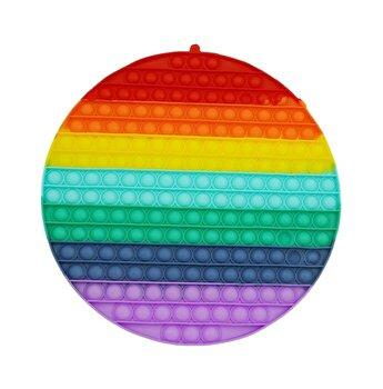 Jucarie Pop It Now - Rotund, multicolor
