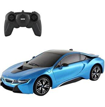 Masina cu telecomanda BMW I8 albastru scara 1:18