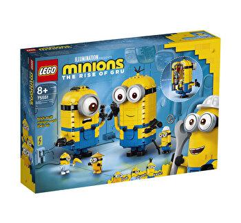 LEGO Minions - Figurine Minioni din caramizi, si barlogul lor 75551