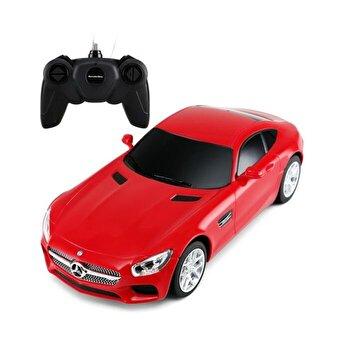 Masina cu telecomanda Mercedes AMG GT, rosu, scara 1 la 24