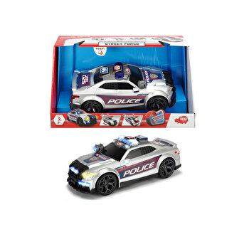 Masina de politie Dickie Toys, Street Force