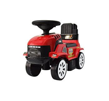 Ride-on Tractoras, rosu