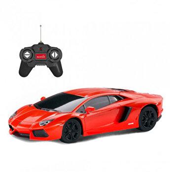 Masina cu telecomanda Lamborghini Aventador, rosu, scara 1:24