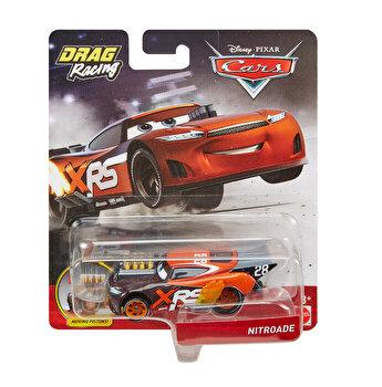 Cars XRS - Masinuta metalica de curse Nitroade