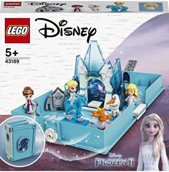 LEGO Disney Frozen II - Aventuri din cartea de povesti cu Elsa si Nokk 43189