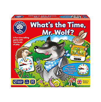 Joc de societate Cat este ceasul, domnule Lup? - What's the time Mr. Wolf