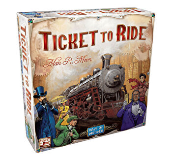 Joc Ticket to Ride - limba romana