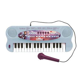 Orga electronica Frozen, 32 clape, sunete incorporate si microfon