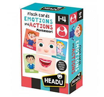 Headu Montessori - Carti Emotii Si Actiuni