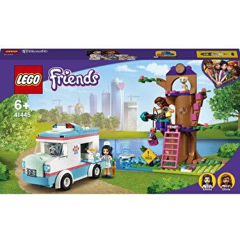 LEGO Friends - Ambulanta clinicii veterinare 41445