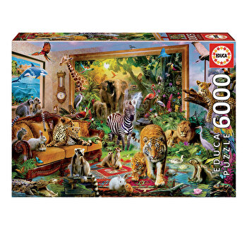 Puzzle Entering The Bedroom, 6000 piese