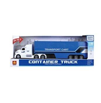 Camion tir transport Cart, cu sunete si lumini, scara 1 la 5