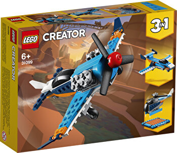 LEGO Creator 3 in 1, Avion cu elice 31099