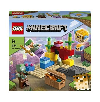 LEGO Minecraft - Reciful de corali 21164