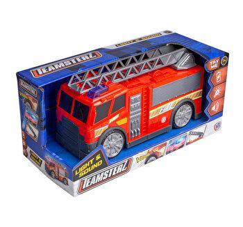Masina de pompieri cu sunete si lumini - Teamsterz