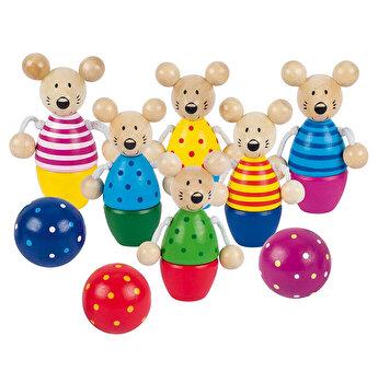 Joc popice lemn - Soricei