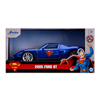 Macheta metalica Superman, Ford GT, scara 1 la 32