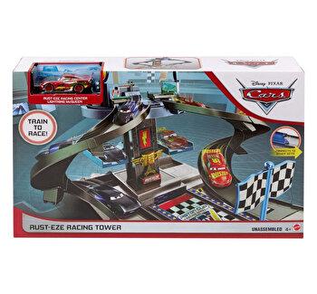 Set de joaca Cars - Turnul de curse Rust-Eze