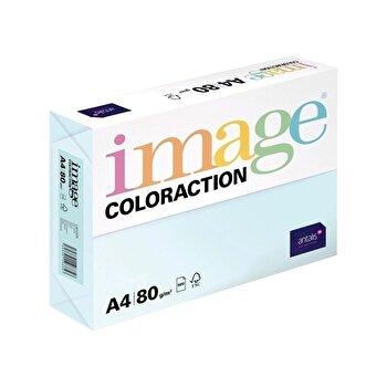 Hartie color Coloraction, A4, 80 g/mp, bleu pal-Lagoon, 500 coli/top