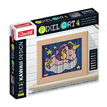Set Quercetti - Pixel Art, Unicorn