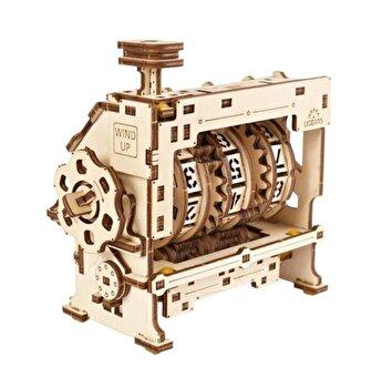 Puzzle Mecanic 3D - Contor de parcurs