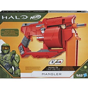 Blaster Nerf - Halo Mangler, 6 proiectile