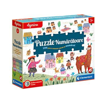 Agerino - Joc educativ Puzzle numaratoare