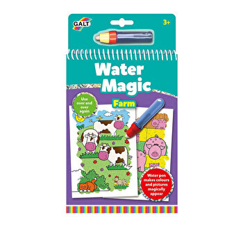 Set Water Magic - Carte de colorat La ferma