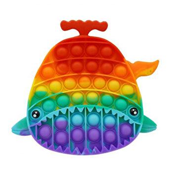 Jucarie Pop It Now - Rechin, multicolor, 19 cm