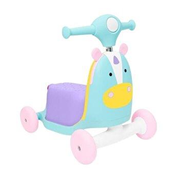 Trotineta 3 in 1 Ride on Unicorn , Skip Hop