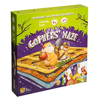 Joc educativ Gophers' Maze