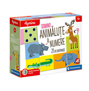 Agerino - Joc educativ Animale si numere