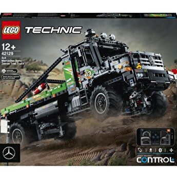 LEGO Technic - Camion de testari 4x4 Mercedes-Benz Zetros 42129