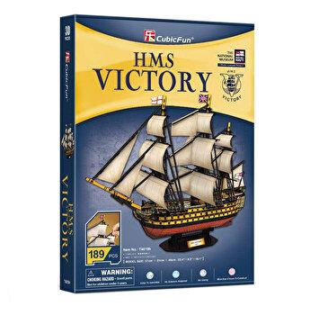 Puzzle 3D - Nava Hms Victory, 189 piese