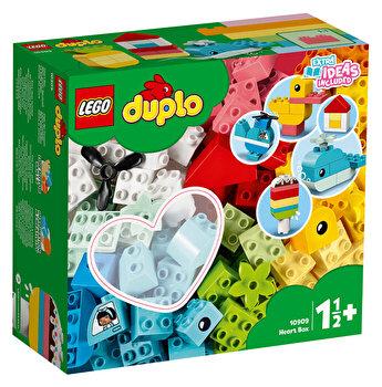 LEGO DUPLO - Cutie in forma de inima 10909