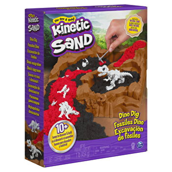 Kinetic Sand, set Dino - Santierul arheologic