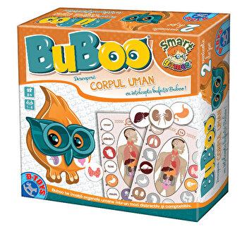 Bufnita Buboo - Joc educativ Descopera corpul uman