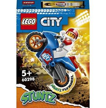 LEGO City - Motocicleta de cascadorie-racheta 60298