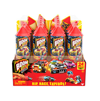 Boom City Racers - Lansator si masinuta