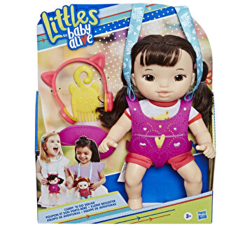 Baby Alive - Papusa Littles Carry'n Go, satena