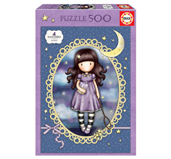 Puzzle Catch a Falling Star Gorjuss, 500 piese