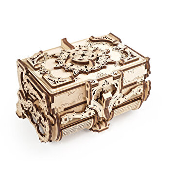 Puzzle Mecanic 3D - Cutie antica de bijuterii