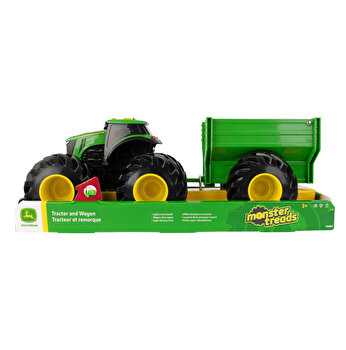 John Deere - Tractor cu remorca
