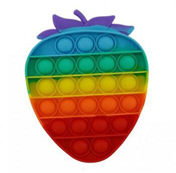 Jucarie Pop It Now - Capsuna, multicolor