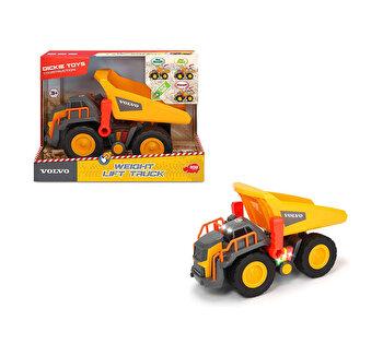 Camion Volco Dickie Toys, pentru sarcini grele