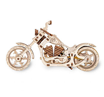 Puzzle 3D Eco Wood Art Cruiser, 152 piese