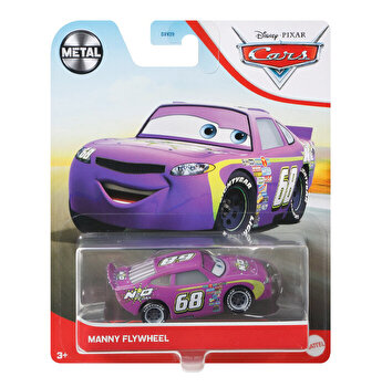 Cars 3 - Masinuta metalica Manny Flywheel