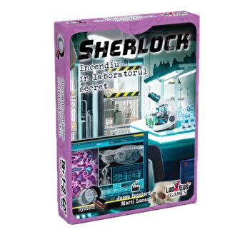 Joc Sherlock - Q6 Incendiu in laboratorul secret