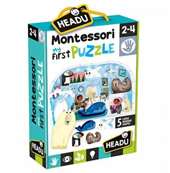 Montessori Primul Meu Puzzle Headu - Polul Nord